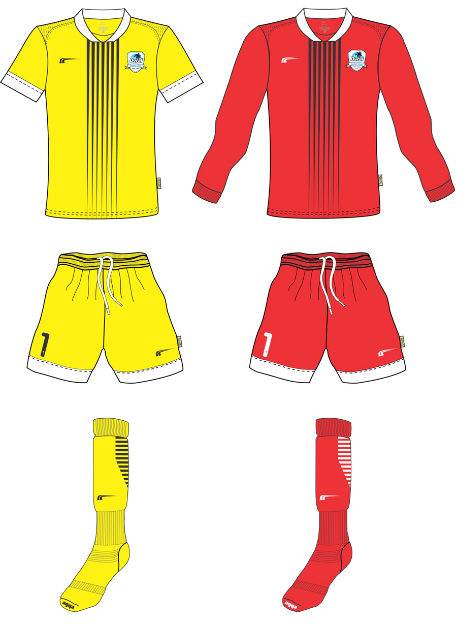 Goalkeeper Competitive Uniforms 2018 - 2019 | Doral Soccer Club