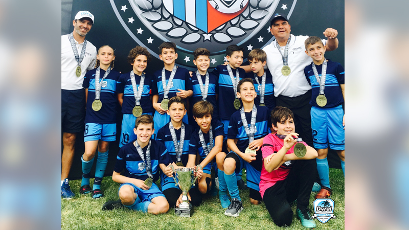 U10 White Champion's Super Copa Denver June 2018