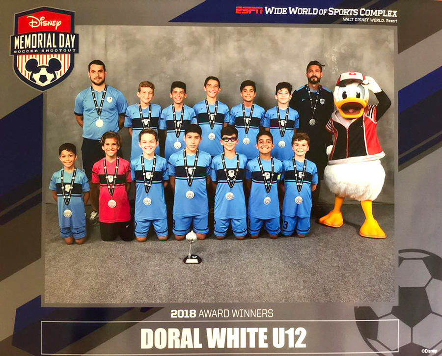 Disney Memorial Day Doral White U12 ESPN