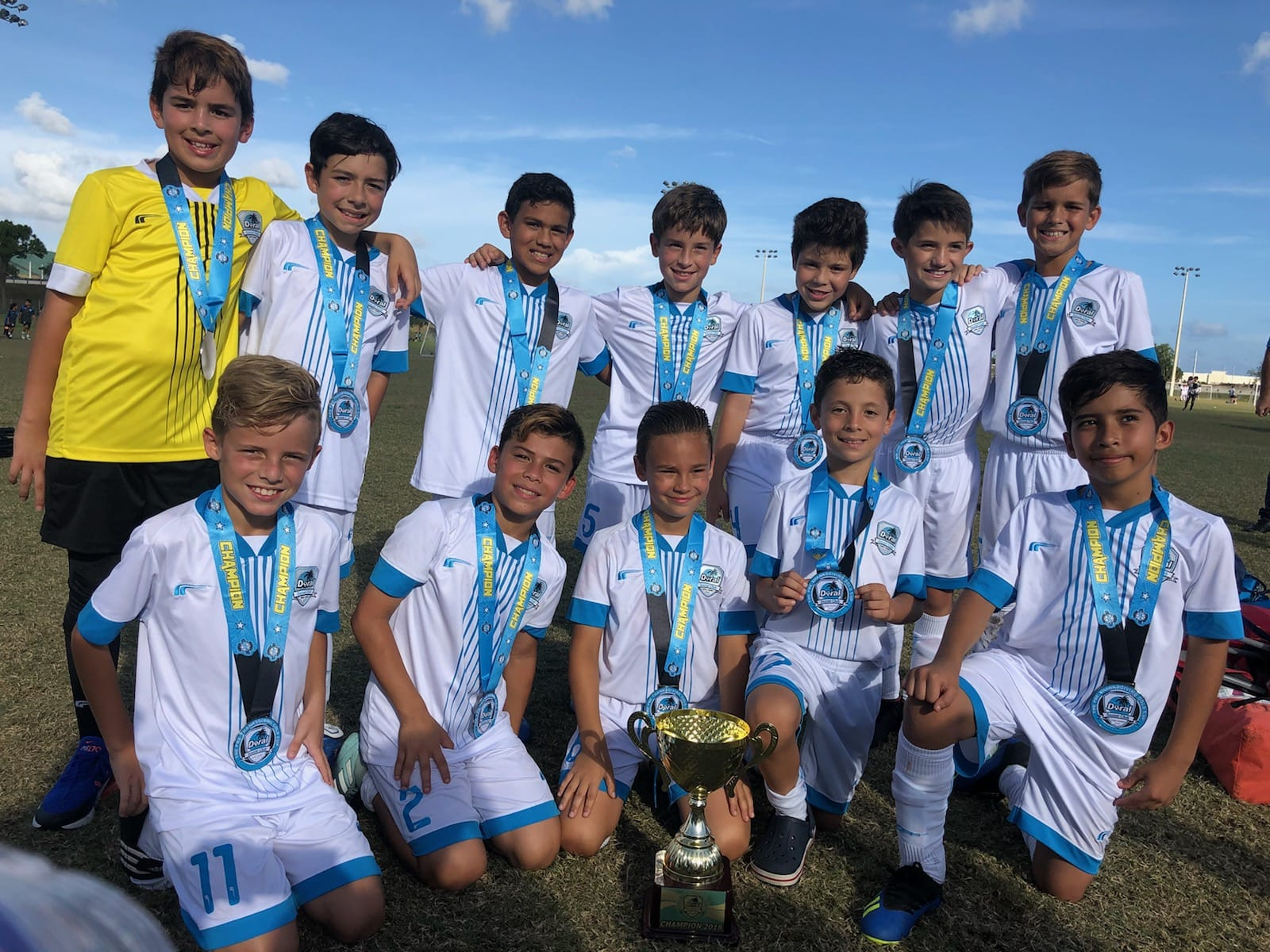 U11 Elite Champion's!!! Pre-Thanksgiving Nov 3/4, 2018