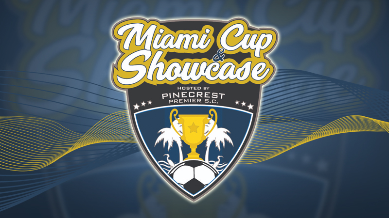 The Miami Cup & Showcase  April 2-27-28, 2019