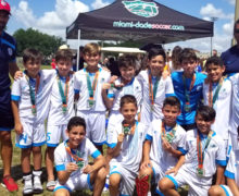 U11 Elite Champion's Miami Dade Soccer League Spring Season 2019